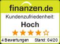 Kundenzufriedenheit bei finanzen.de